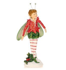 Mary Engelbreit Christmas Garden Elf Boy Figurine 10 inch