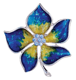 Annaleece Brooch Lapel Pin Lavish Flower