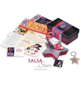 Just The Right Shoe Membership Kit w Salsa Star w Star Box Stand