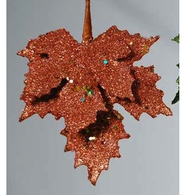 Katherine's Collection Fall Decor - Rust Encrusted Leaf