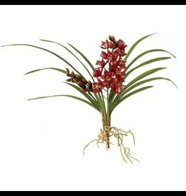 Winward Flowers Floral 95302.MV Orchid Cluster Cymbidium Mauve 26 inch
