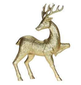 Mark Roberts Christmas Decorations Gold Deer Table PIece 18 inch A