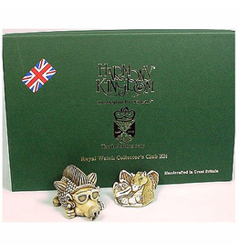 Harmony Kingdom Treasure Jest Royal Watch Collector Club Kit 2005
