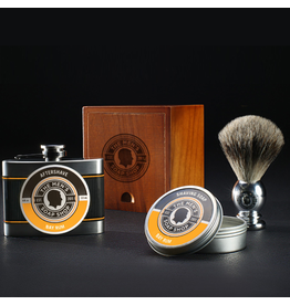 The Men's Soap Shop The Mens Soap Shop Alpha Smooth Shaving Set Bay Rum