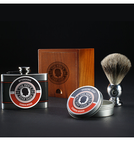 The Men's Soap Shop The Mens Soap Shop Alpha Smooth Shaving Set Sandlewood
