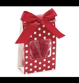 Burton and Burton Red White Dot Candy Gift Bag