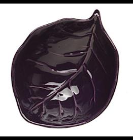 Leaf Dipping Bowl LEV-2684 Purple-Eggplant