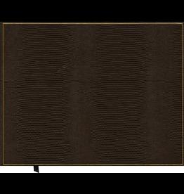 Caspari Guest Book Faux Lizard Skin Cover 9x7