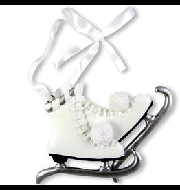 Kurt Adler Ice Skates Christmas Ornament