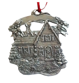 Pewter Christmas Ornament New Home by Royal Selangor Pewter