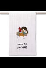 Peking Handicraft Thanksgiving Kitchen Towel Gobble Till You Wobble