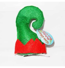 DM Merchandising Mini Santa Elf Christmas Hat Hair Clip - G