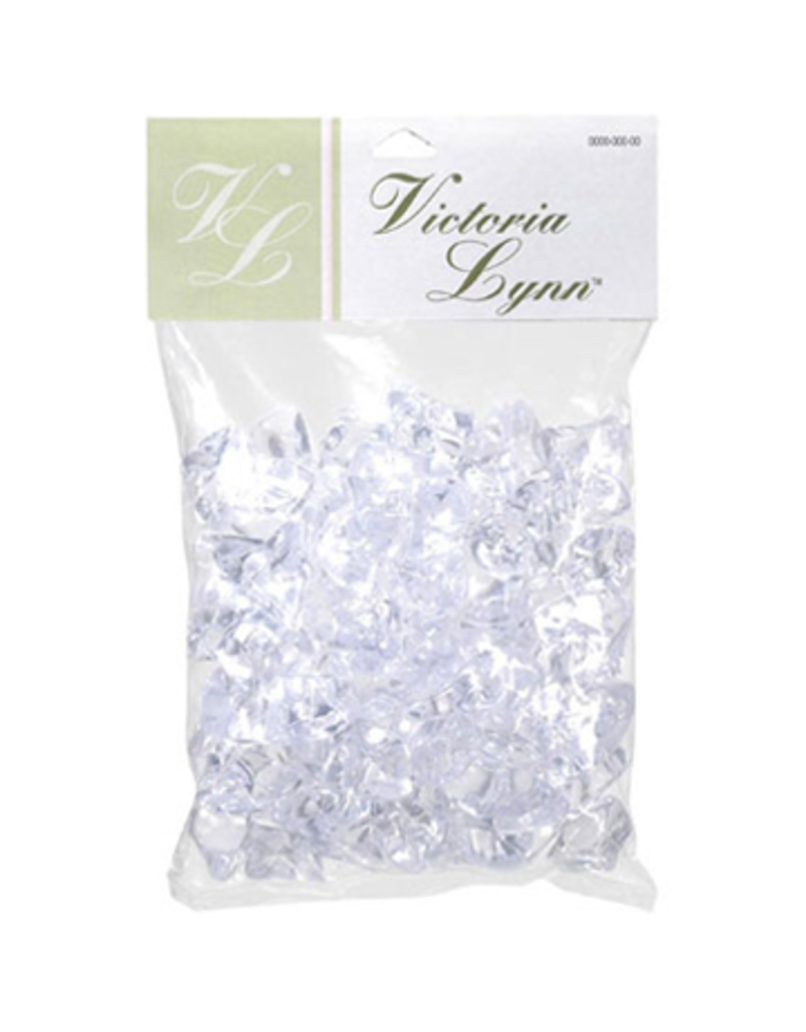 Darice Acrylic Ice Nuggets 8oz Pack Clear Acrylic Ice Decoration