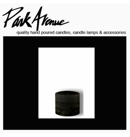 Park Avenue Candles Textured Pillar Candle Black 3x3