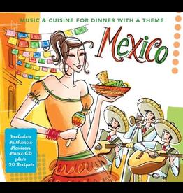 Sugo Music Mexico CD Mexican Music w Recipe Book