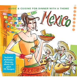 Sugo Music Music and Cuisine Mexico CD Mexican Music w Recipe Book