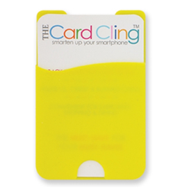 DM Merchandising The Card Cling Yellow