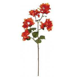 Winward Silk Flowers Floral 95602.OR Bougainvillea 34.5 inch Orange