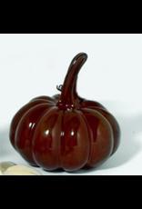 Department 56 Brown Ceramic Pumpkin Fall Harvest Decor