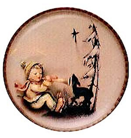 Winter Melody Plate 155684