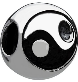 Chamilia Charm Ying Yang Sterling Silver Bead GC-4b Chamila