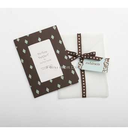 Photo Frame Greeting Card Celebrate Chocolate Aqua Diamond