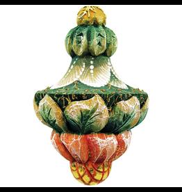 DeBrekht Artistic Studios Fanciful Drop Ornament 2.5 Inch