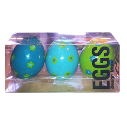 Digs Egg Candles Box of 3 Eggs by Design Ideas