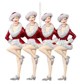Kurt Adler Radio City Rockettes Showgirl Ornament