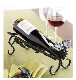 Mud Pie Wine Bottle Holder 151553 Grapevine Wine Cradle Mud Pie Gifts