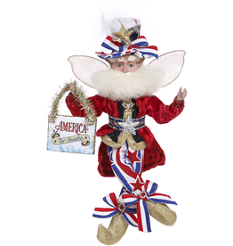 Mark Roberts Fairies Patriotic America The Beautiful Fairy 10.5 Inch