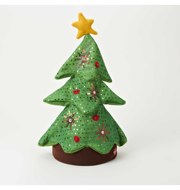 Kurt Adler Animated Musical Singing Rocking Christmas Tree Hat