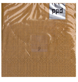 PPD Paper Product Design Cocktail Beverage Napkins Gold 20pk