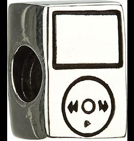 Chamilia Charm Tune iPod Sterling Silver Bead GA-119 Chamilia