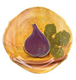 Dinnerware Eggplant Fruit Salad Plate