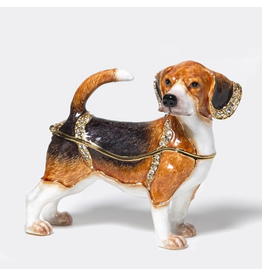 Department 56 Jeweled Beagle Dog Box