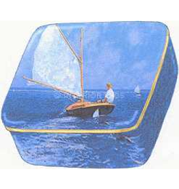 Artis Orbis Setting Out Sailing by Dunlay Porcelain Box