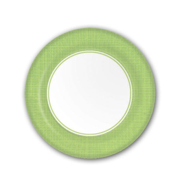 PPD Paper Product Design Paper Plates 87171 Mixx Lime Dessert/Salad Plate 8 inch