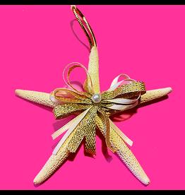 Treasures From The Sea White Starfish Ornament TFTS-03