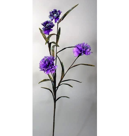 Katherine's Collection Fantasy Dianthus Floral Stem With Purple Flowers