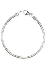 Chamilia Bracelet w Clasp 7.5 inch Sterling Silver AA-3