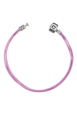 Chamilia Bracelet 6.0 inch Leather Sterling Silver BLP-0 Pink