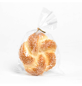 K&K Interiors Fake Display Food Round Sesame Seed Roll 4.25 in.