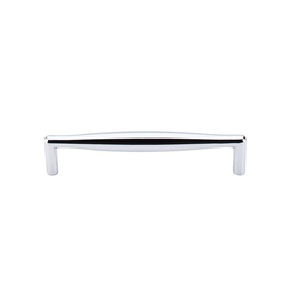 Top Knobs M504 Nouveau II - Rectangular Pull - Brushed Satin