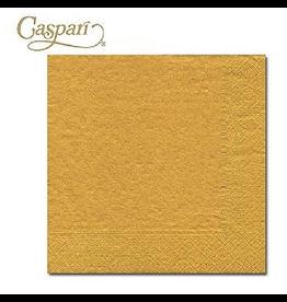 Caspari Paper Napkins Gold Lunch Napkins