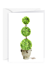 Charles W Blank Note Card - Cash - Gift Card Holder - Topiary