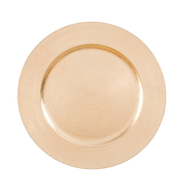 Darice Charger Plates 13 inch Pack of 6 - Gold