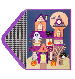PAPYRUS® Halloween Card Whimsy Haunted House
