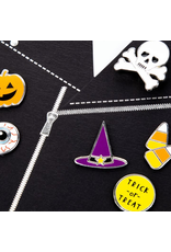 PAPYRUS® Halloween Cards Jacket with Skull Pin