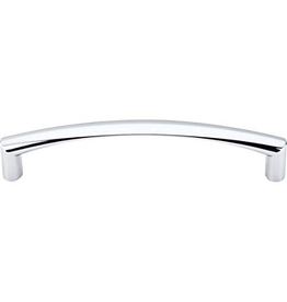 Top Knobs M392 Nouveau - Griggs Pull - Polished Chrome